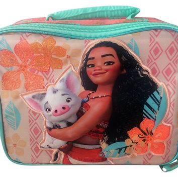 Disney Moana School Lunchbox Kit for Girls