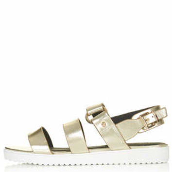 HUMIDITY Sandals - Gold