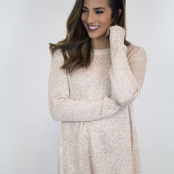 Gold Shimmer Sweater - Jack by BB Dakota