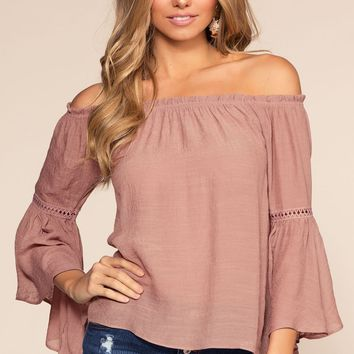 Kelsey Off The Shoulder Top