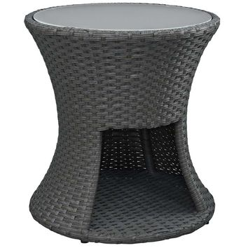 Chocolate Sojourn Outdoor Patio Side Table