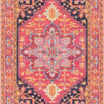 nuLOOM Fancy Persian Vonda Pink Rug