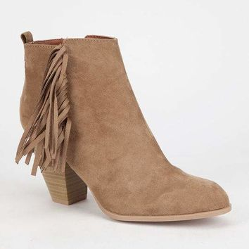QUPID Salty Womens Booties
