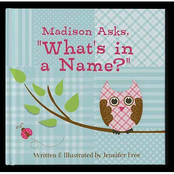 What's In A Name Personalized Storybook - Soft Cover