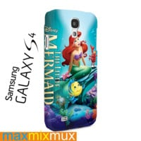 Disney The Little Mermaid Samsung Galaxy Series Full Wrap Cases