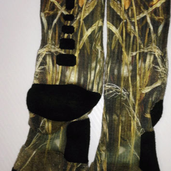 Custom Duckland  Nike Elite crew socks