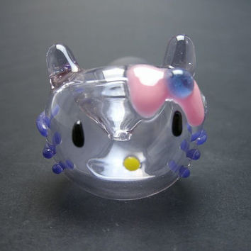 Lavender Hello Kitty Pocket Glass Pipe