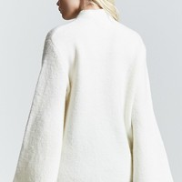 Contemporary Bell-Sleeve Sweater