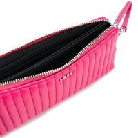 DKNY Quilted Pinstripe Wallet - Farfetch
