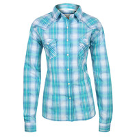 Panhandle Slim Women's Plaid Long Sleeve Western Shirt