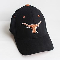 UT LONGHORNS BLACK MEN'S BASEBALL CAP Gift for dad Father's Day GIFT embroidered