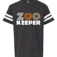 Kids Zoo Shirt, Zoo Keeper Shirt, Toddler Animal Birthday Party, Zoo Class Trip Tshirt, Teacher Gift Shirt, Zoo Keeper Outfit, Youth Zoo Tee