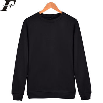 LUCKYFRIDAYF solid color hoodies Fashion Cotton Men/women Long Sleeve Hip Hop Hoodies Street WearHarajuku Sweatshirt XXXXL bts