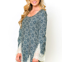 Meteora Lace Tunic Dress
