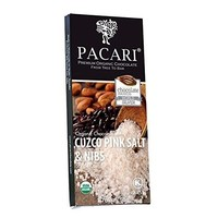 Pacari Salt & Nibs Organic Chocolate Bar