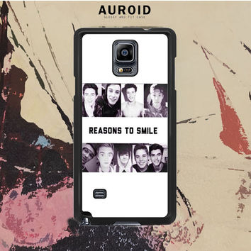 The Viners Collage Photos Cover Samsung Galaxy Note 4 Case Auroid