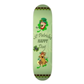 St. Patrick's Day Skateboard