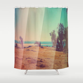 California Drought Shower Curtain by DuckyB (Brandi)