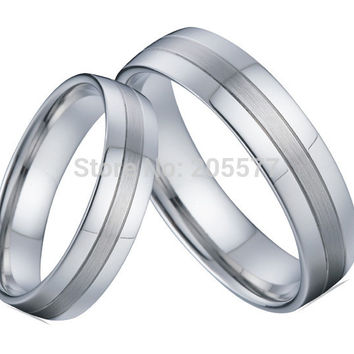handmade custom silver color western titanium homosexual gay wedding rings wedding band engagement couples rings sets for gays