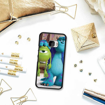 Monsters Inc sulley holding mike HTC One M10 Case Planetscase.com