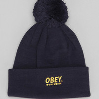 OBEY Worldwide Pom Beanie - Urban Outfitters
