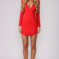 HelloMolly | Porsche Dress Red - Dresses