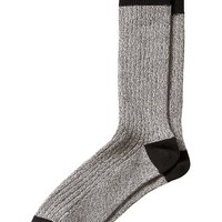 Banana Republic Factory Marled Camp Sock Size One Size - Gray heather