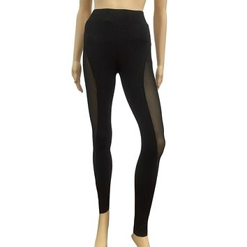 Yoga Sports Leggings For Woman Sports Tight Mesh Yoga Leggings Yoga Pants Women Running Tights Women#