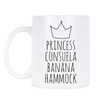 Friends Coffee Mug Princess Consuela Banana Hammock Mugs