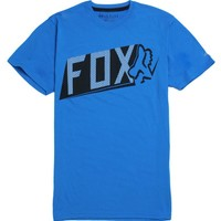 Fox Detractor Tech T-Shirt - Mens Tee - Blue