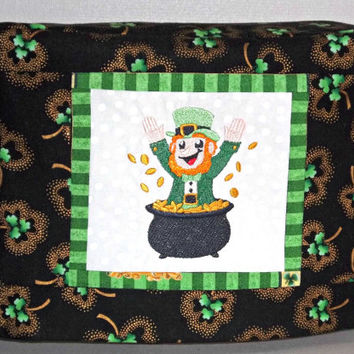 St. Patrick's Day Toaster Cover- 2 slice holiday toaster cover