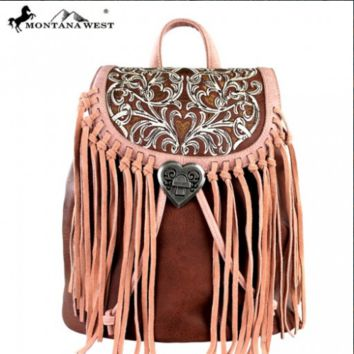 Montana West Fringe Backpack