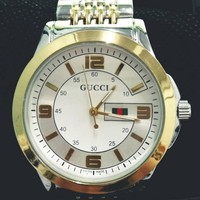 GUCCI Fashion classic Women Men Trending Watch G-Fushida-8899 Golden