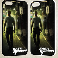 Fast Furious 7 The Known Road A head F0441 iPhone 4S 5S 5C 6 6Plus, iPod 4 5, LG G2 G3, Sony Z2 Case