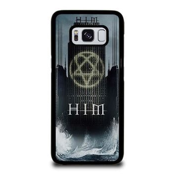 HIM BAND HEARTAGRAM Samsung Galaxy S8 Case Cover