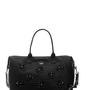 Kate Spade Classic Nylon Jewels Lyla Black ONE