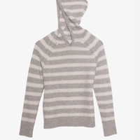Exclusive for Intermix Striped Cashmere Hoodie-3-HOW TO WEAR LEATHER-CHIC THIS WEEK-What To Wear-Categories- IntermixOnline.com