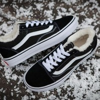 VANS Women Men Fashion relaxation exercise shoes