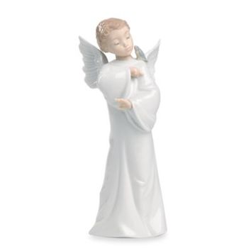 Nao® By Lladro Guardian Angel Porcelain Figurine