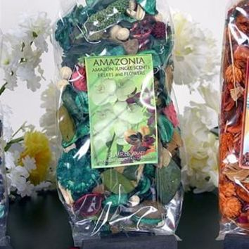 Amazon Jungle Fruits and Flowers Scents Potpourri by Flaires 3-PACK