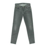 7 For All Mankind Womens Denim Mid-Rise Cigarette Jeans