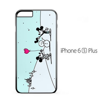 Mickey Mouse Winter iPhone 6s Plus Case
