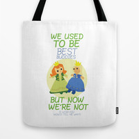 we used to be best buddies, but now we're not...(I wish you would tell me why?) Tote Bag by Studiomarshallarts