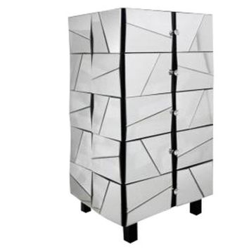 Fractured Mirrored Chest