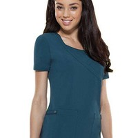 Buy Dickies Xtreme Stretch Women Solid Mock Wrap Top for $19.45