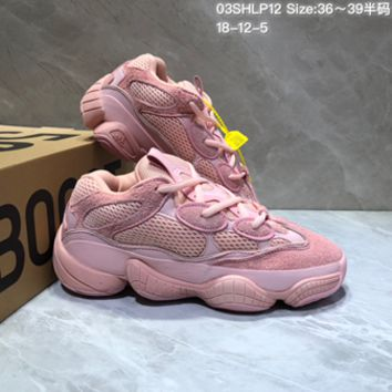 HCXX 19July 115 Adidas YEEZY BOOST zx500 Fashion Comfortable Running Shoes pink