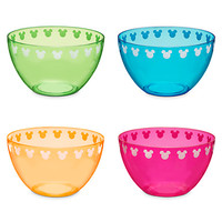 Mickey Mouse Icon Bowl Set - Summer Brights