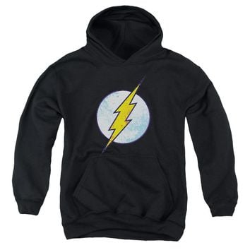 Dco - Flash Neon Distress Logo Youth Pull Over Hoodie