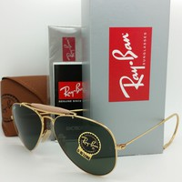 NEW Rayban Outdoorsman sunglasses RB3030 L0216 58 Airsta Classic G-15 AUTHENTIC
