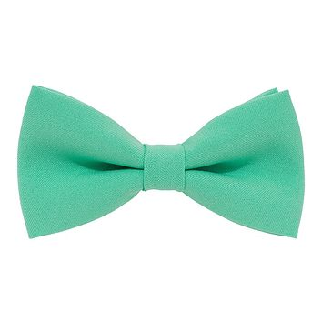 Green Mint Bow tie